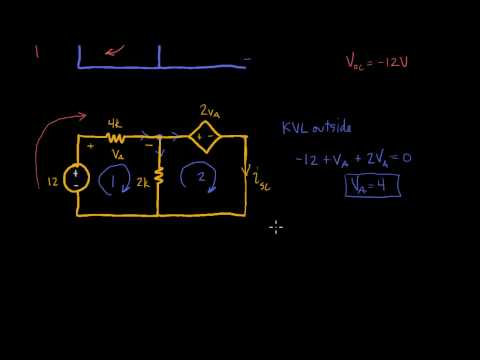 Thevenin's equivalent with dependent and independent sources Problem 5.53