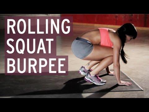Rolling Squat Burpee