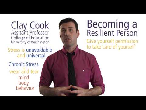 Becoming a Resilient Person - The Science of Stress Management | UWx on edX | Course About Video