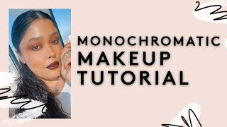 MONOCHROMATIC MAKEUP TUTORIAL: WINE COLLECTION | FENTY BEAUTY