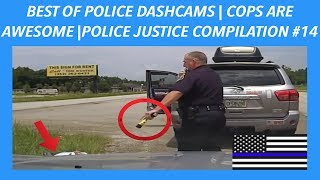 👮🏼🚔BEST OF POLICE DASHCAMS | COPS ARE AWESOME | POLICE JUSTICE / POLICE CHASE COMPILATION #14