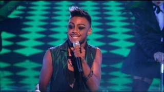 Marcus Collins turns on the Stevie Wonder - The X Factor 2011 Live Show 4 (Full Version)