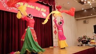 ベトナム舞踊ベトナム総領事館のテトのパーティーNo2