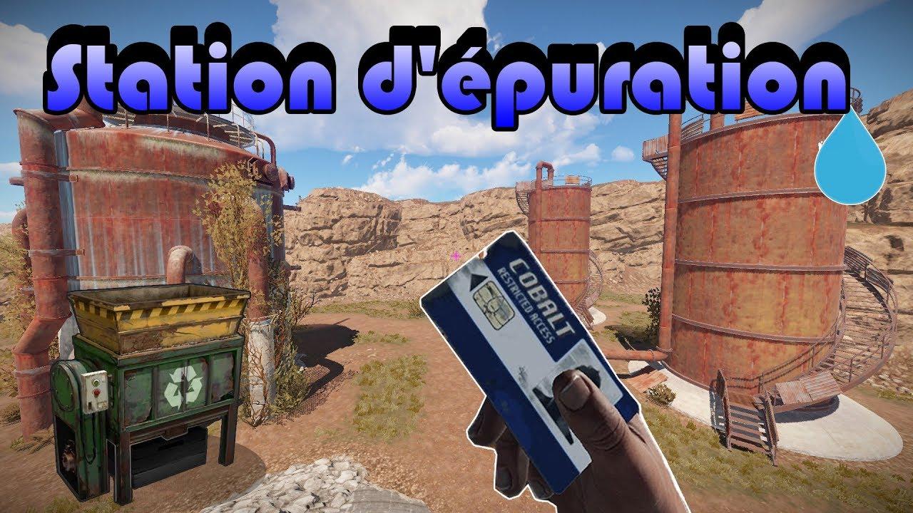 Carte Bleue Rust.Rust Cartes Recycleur Station D Epuration