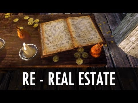 Skyrim Mod: RE- Real Estate - Run A Business