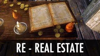 Skyrim Mod: RE- Real Estate - Run A Business