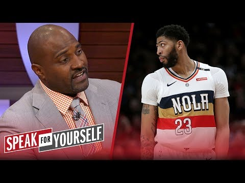 Marcellus Wiley has no problem with the Lakers' aggressive pursuit of AD | NBA | SPEAK FOR YOURSELF