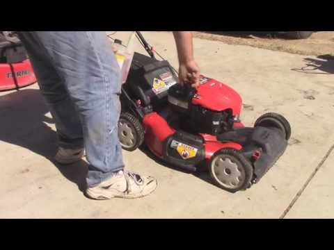 Getting a Troy Bilt Mower Running Again