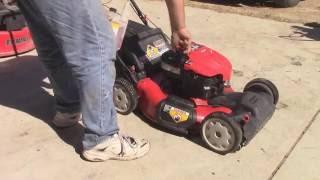 Getting a Troy Bilt Mower Running Again
