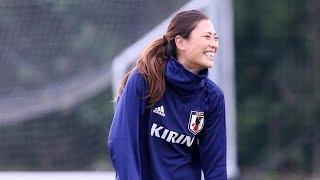 11月6日から鳥取市内で合宿に入ったなでしこジャパンは、7日、午前午後...