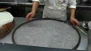 廣州沙河村沙河粉製作過程 (1) 蒸粉