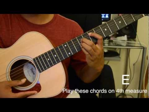 Bruno Mars - The Lazy Song Tutorial
