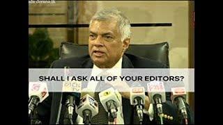 PM defames the media (English)