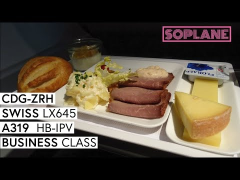 SWISS | Paris CDG - Zurich | Business Class | A319 | Trip Report | Full Flight