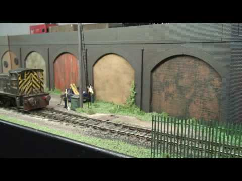 HW Yard – O gauge model railway