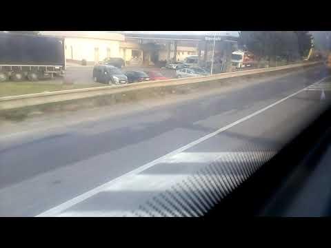Jazda Autobusom Po Jednej Z Najhorších Ciest I.triedy Na Slovensku (I/50)