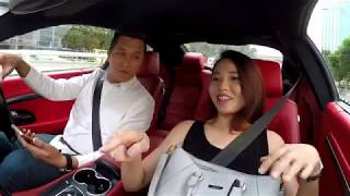 Uber Prank: Myvi becomes Maserati GT?