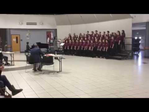 Chesterton Middle School 7th Grade Mixed Choir ISSMA 2018