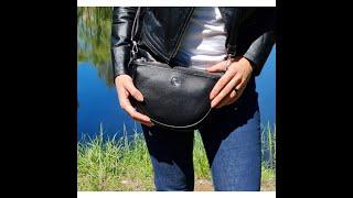 Сумка женская через плечо 6604 black