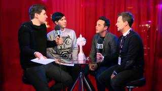 Dan & Phil Meet Ant & Dec | BRIT Awards 2015