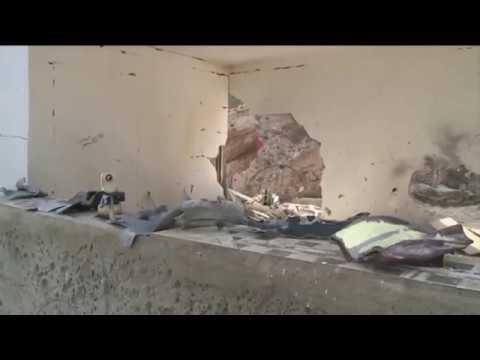 Serangan Balik Roket Pejuang Palestina Hancurkan Rumah - Rumah Israel