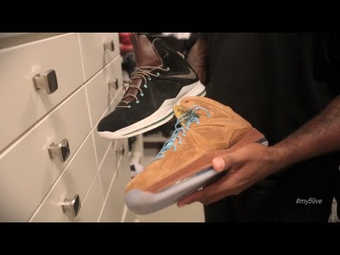 My 5 LIVE: Duane Brown Takes Us Inside His Sneaker Rotation