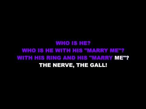 """Astonishing"" from Little Women - Karaoke Track with Lyrics on Screen"