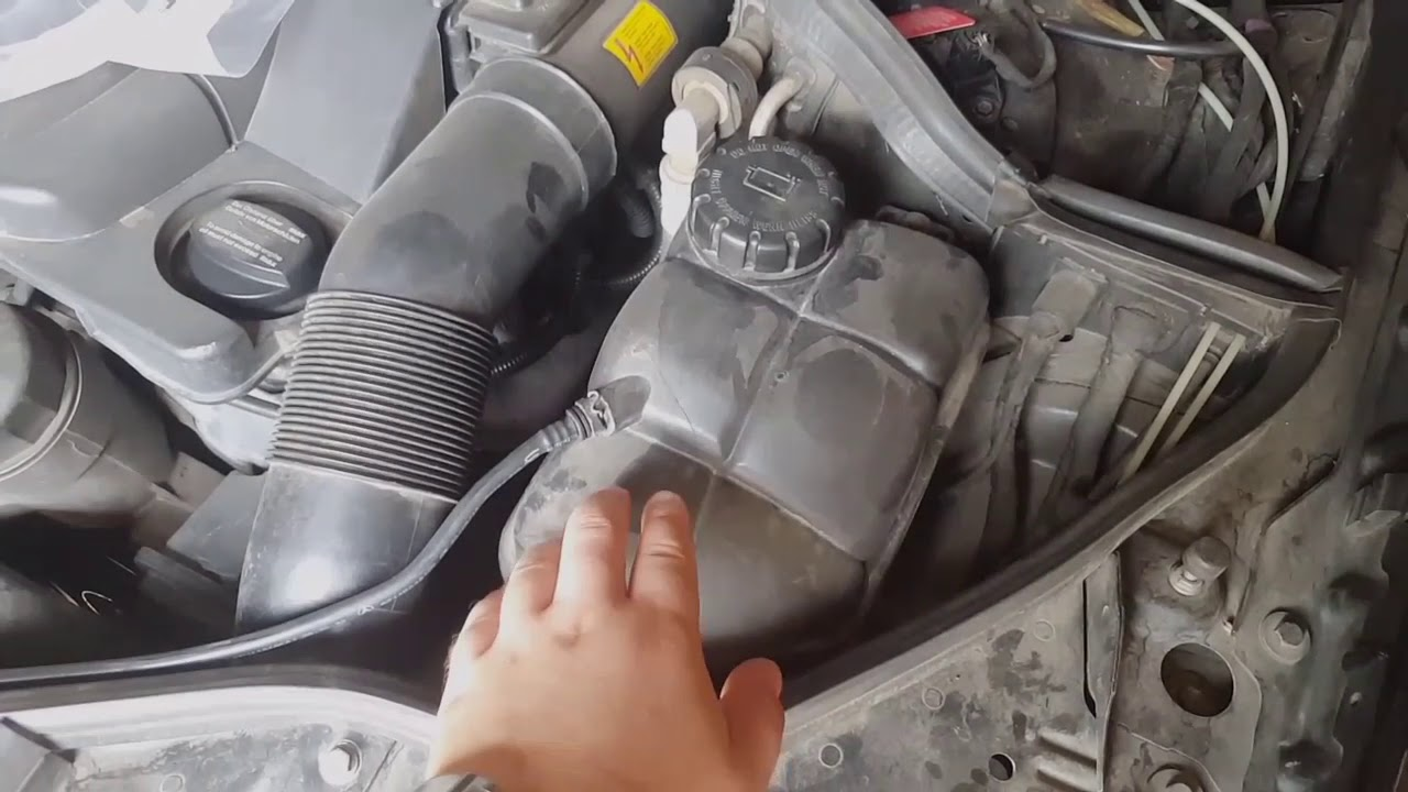 Меrcedes-benz (w220) замена масла в двигателе - YouTube