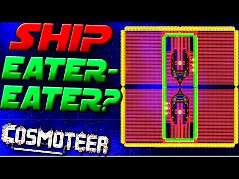 STARSHIP EATER GETS EATEN! SHIPCEPTION! - Cosmoteer Gameplay Ep7