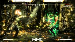 How To Beat Quan Chi - YOMI|Michaelangelo vs YOMI|DJT // MKX at Midwest Championships
