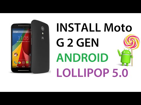 How To Manually Flash Install Android Lollipop 5.0 On Moto G (2nd Gen) XT1068 XT1064 XT1063