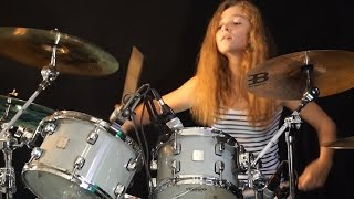 Download Sultans Of Swing (Dire Straits); drum cover by Sina