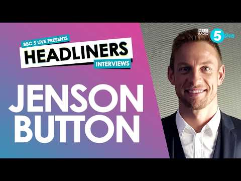 Jenson Button on F1, his dad and a naked David Coulthard