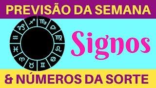 PREVISÃO PARA TODOS OS SIGNOS - HOROSCOPO DA SEMANA - NÚMEROS DA SORTE 14-10 A 20-10-2018