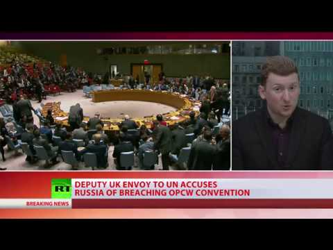 UK & US accused Russia of poisoning Sergei Skripal at emergency UNSC meeting