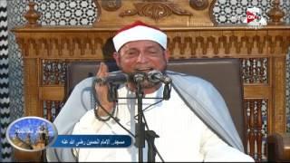 شعائر صلاة الجمعة من مسجد الإمام الحسين رضى الله عنه - 14 أكتوبر 2016