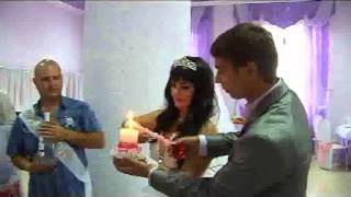 Бумажная свадьба Александра и Наташи Бондаренко