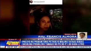Isabel Lopez maaaring kasuhan dahil sa paggamit ng ASEAN lane (2)