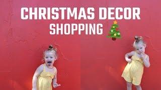 VLOGMAS EP12| CHRISTMAS DECOR SHOPPING #VLOGMAS#VLOGMAS2018