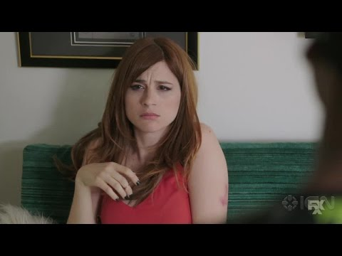 Google Hangout with Chris Geere and Aya Cash from FXX's