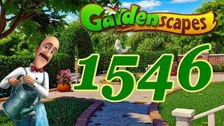 GardenScapes level 1546