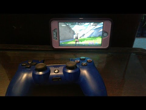 How to connect controller to iphone/android