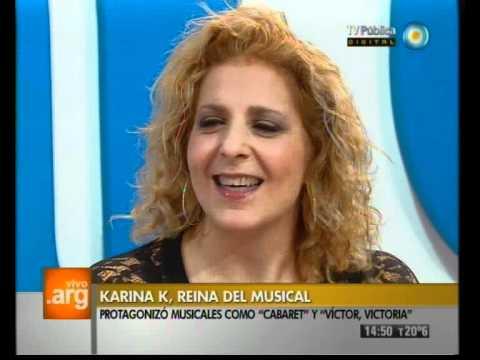 Vivo En Argentina Invitada Karina K