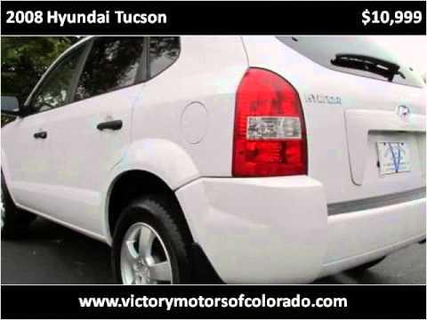 2008 hyundai tucson used cars longmont co youtube for Victory motors trucks longmont