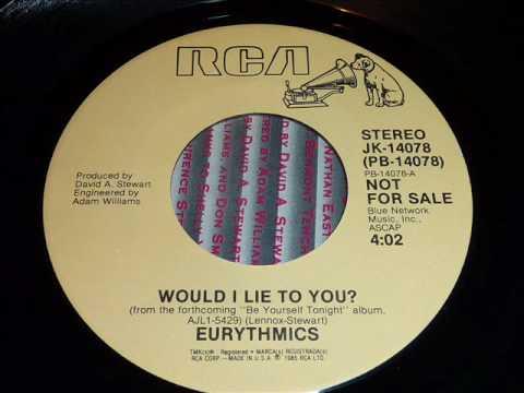 Eurythmics - Would I Lie To You 45rpm Mp3
