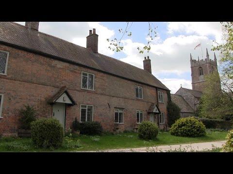 Avebury Village In Wiltshire.