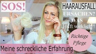 EXTREMER HAARAUSFALL I MEINE Leidensgeschichte I URSACHEN I Was hilft WIRKLICH!?