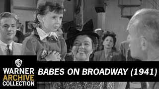 Babes on Broadway (1941) – Margaret O'Brien First Screen Appearance