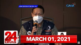 24 Oras Express: March 1, 2021 [HD]