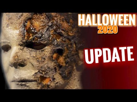 Halloween 2020 Michael Myers Mask 2020 Halloween 2 (2020) UPDATE!!!   YouTube
